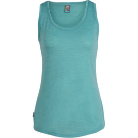 Icebreaker Sphere Sleeveless Shirt Women green